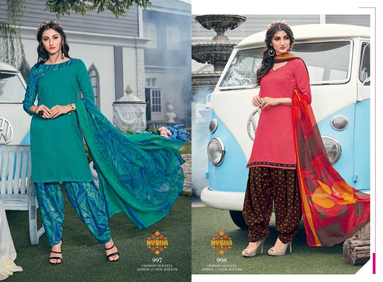 Anmol Nysha Patiyala Vol 6 Salwar Suit Wholesale Catalog 12 Pcs 4 - Anmol Nysha Patiyala Vol 6 Salwar Suit Wholesale Catalog 12 Pcs