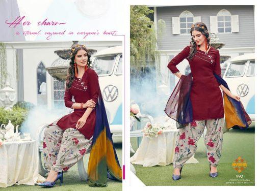 Anmol Nysha Patiyala Vol 6 Salwar Suit Wholesale Catalog 12 Pcs 5 510x376 - Anmol Nysha Patiyala Vol 6 Salwar Suit Wholesale Catalog 12 Pcs