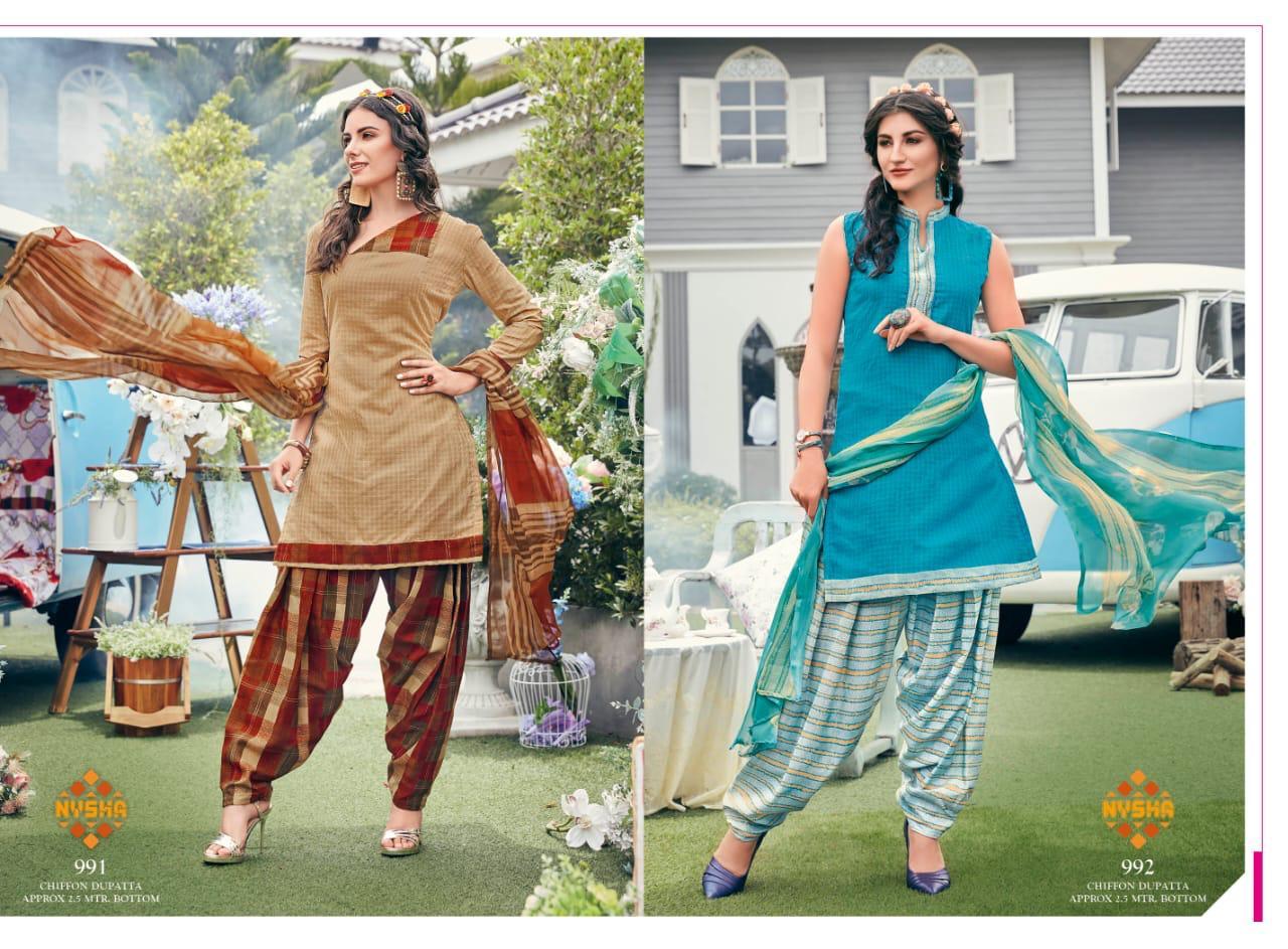 Anmol Nysha Patiyala Vol 6 Salwar Suit Wholesale Catalog 12 Pcs 9 - Anmol Nysha Patiyala Vol 6 Salwar Suit Wholesale Catalog 12 Pcs