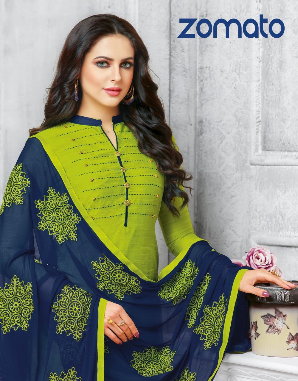 Kapil Trendz Zomato Salwar Suit Wholesale Catalog 12 Pcs 12 - Kapil Trendz Zomato Salwar Suit Wholesale Catalog 12 Pcs