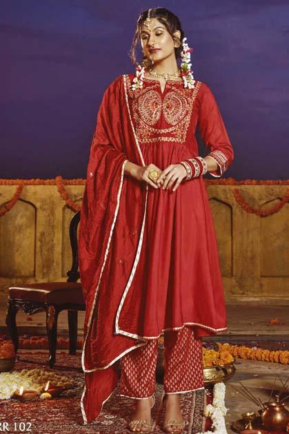 Kiana Rang Rasiya Kurti with Dupatta Bottom Wholesale Catalog 6 Pcs