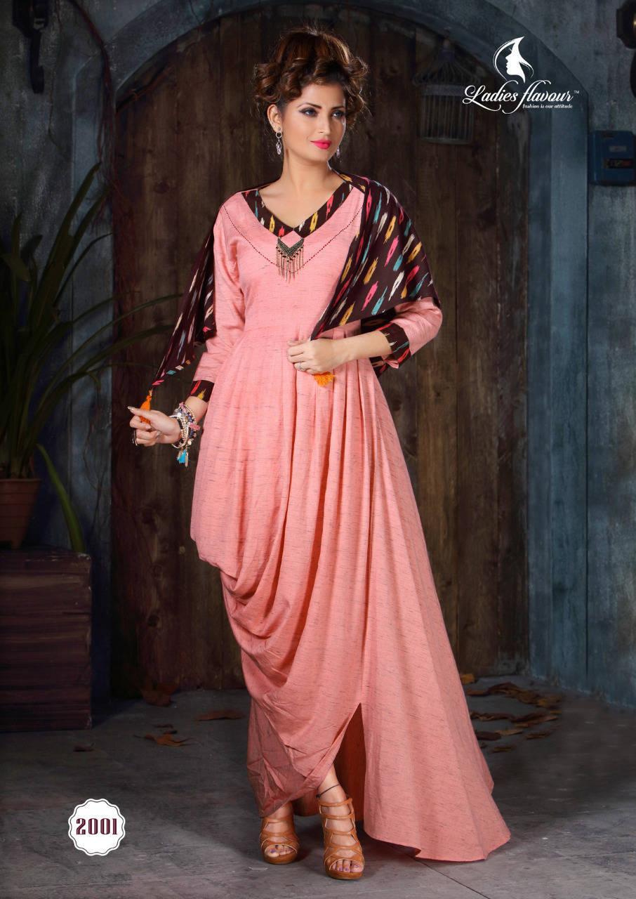 Ladies Flavour Dhadak Kurti Wholesale Catalog 6 Pcs 14 - Ladies Flavour Dhadak Kurti Wholesale Catalog 6 Pcs
