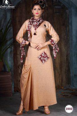 Ladies Flavour Dhadak Kurti Wholesale Catalog 6 Pcs