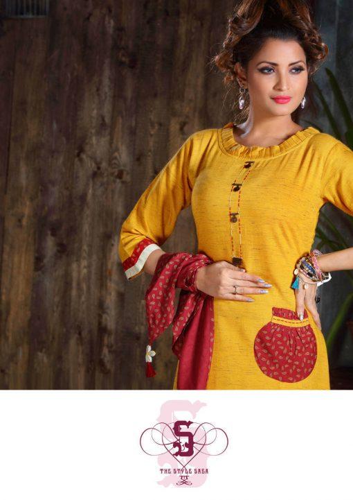 Ladies Flavour Dhadak Kurti Wholesale Catalog 6 Pcs 4 510x721 - Ladies Flavour Dhadak Kurti Wholesale Catalog 6 Pcs