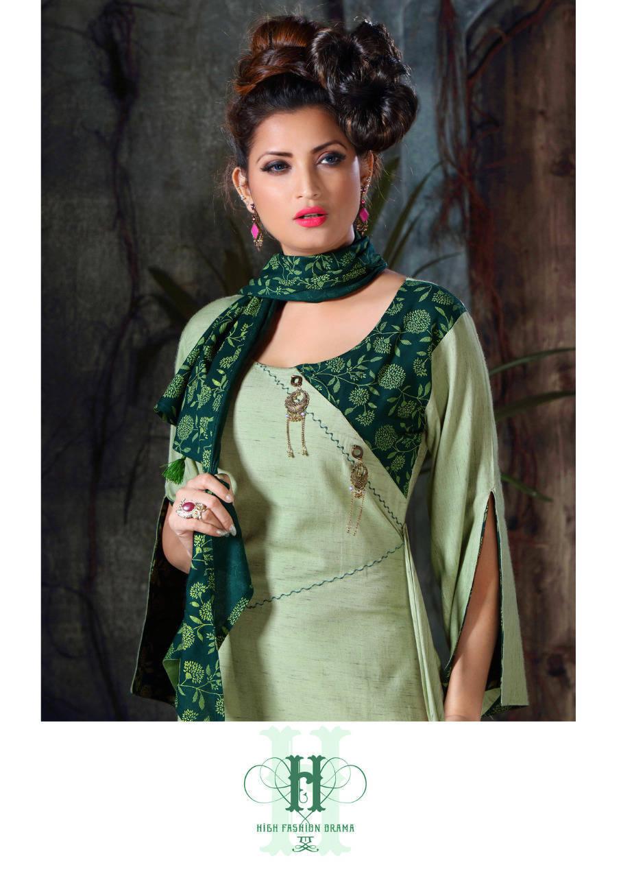 Ladies Flavour Dhadak Kurti Wholesale Catalog 6 Pcs 8 - Ladies Flavour Dhadak Kurti Wholesale Catalog 6 Pcs