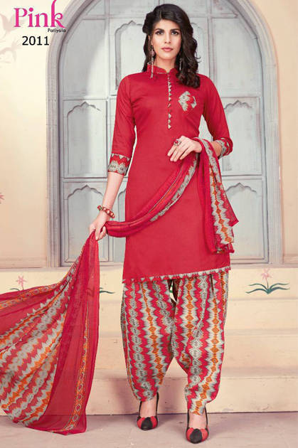 Butter Choice Pink Patiyala Vol 2 Salwar Suit Wholesale Catalog 12 Pcs