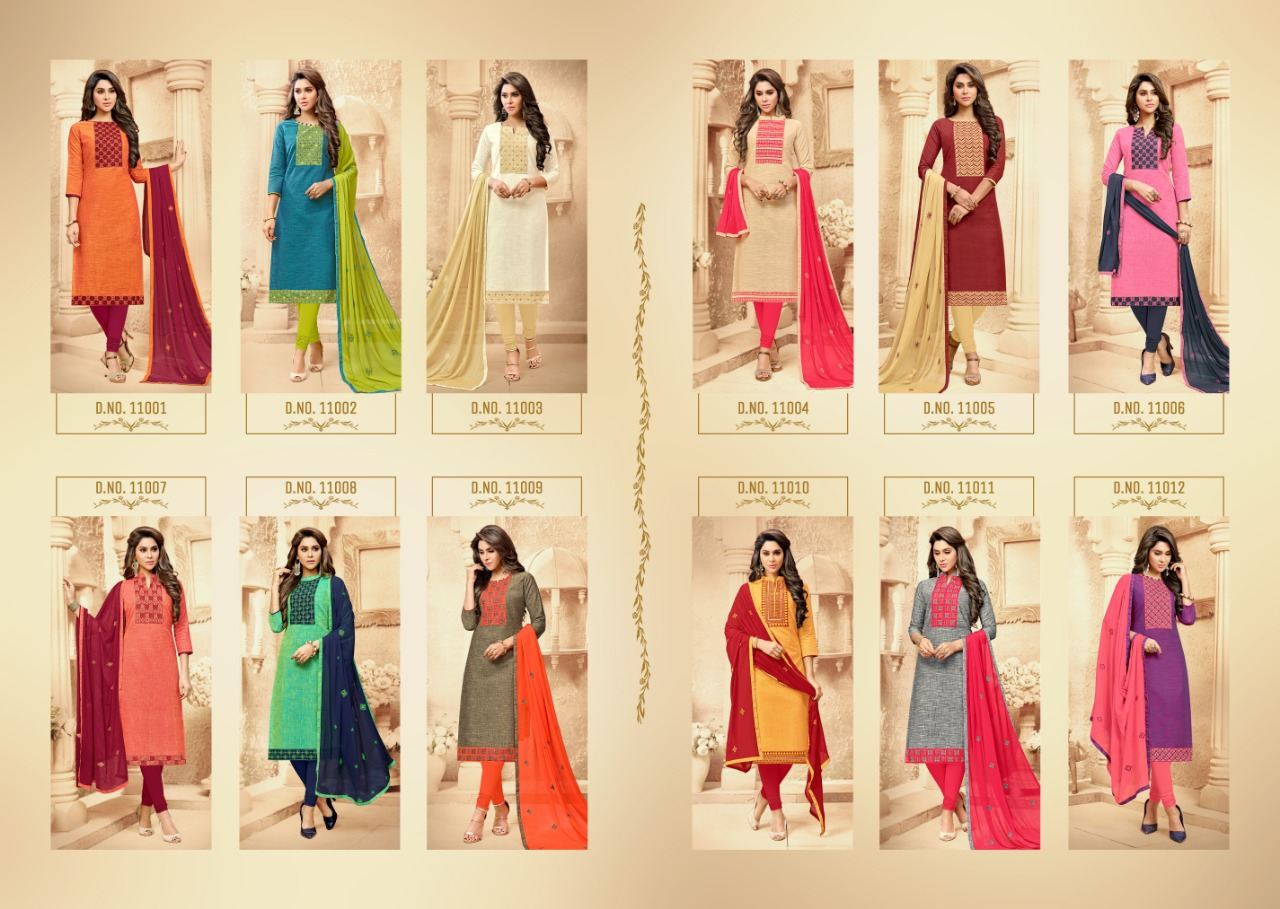 Raghav Kit Kat Salwar Suit Wholesale Catalog 12 Pcs 12 - Raghav Kit Kat Salwar Suit Wholesale Catalog 12 Pcs