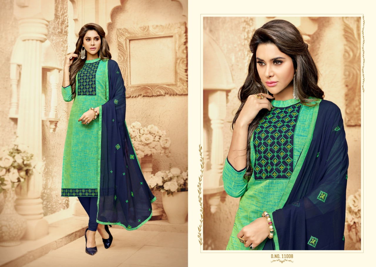 Raghav Kit Kat Salwar Suit Wholesale Catalog 12 Pcs 7 - Raghav Kit Kat Salwar Suit Wholesale Catalog 12 Pcs