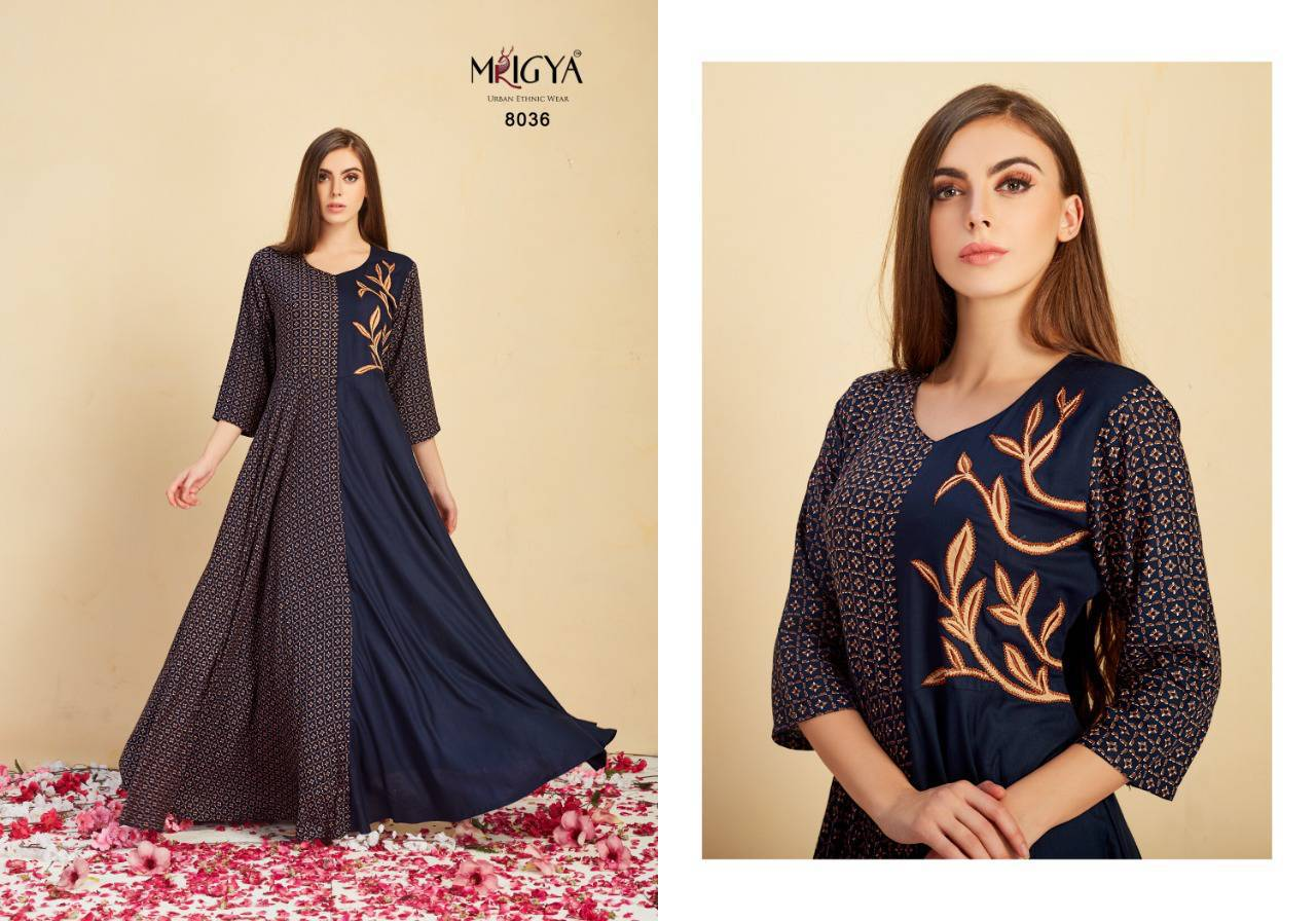 Mrigya Attitude Vol 2 Kurti Wholesale Catalog 5 Pcs 1 - Mrigya Attitude Vol 2 Kurti Wholesale Catalog 5 Pcs