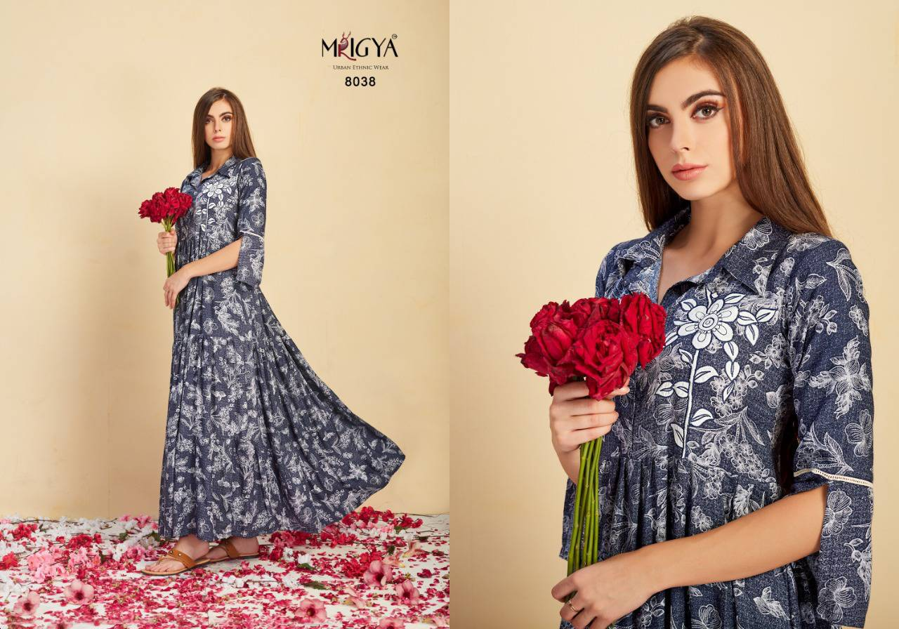 Mrigya Attitude Vol 2 Kurti Wholesale Catalog 5 Pcs 5 - Mrigya Attitude Vol 2 Kurti Wholesale Catalog 5 Pcs