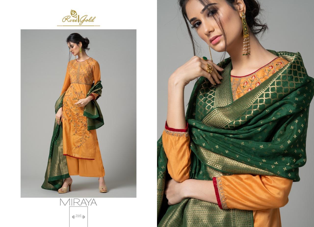 Rvee Gold Miraya Salwar Suit Wholesale Catalog 8 Pcs 9 - Rvee Gold Miraya Salwar Suit Wholesale Catalog 8 Pcs