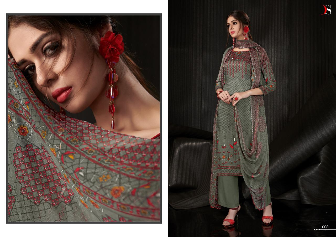 Deepsy Kashmira Salwar Suit Wholesale Catalog 8 Pcs 8 - Deepsy Kasmira Salwar Suit Wholesale Catalog 8 Pcs
