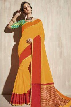 Lt Fabrics Surbhi Saree Sari Wholesale Catalog 10 Pcs