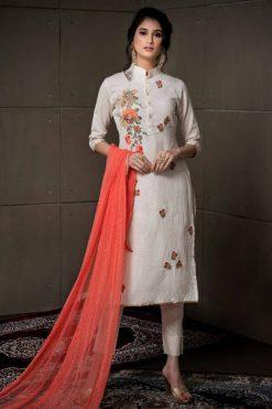 Rvee Gold Even Flow Salwar Suit Wholesale Catalog 8 Pcs