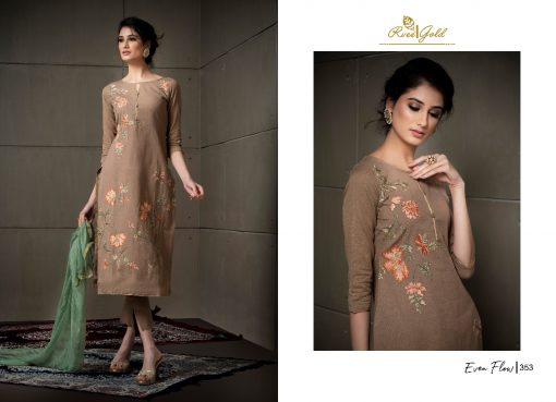 Rvee Gold Even Flow Salwar Suit Wholesale Catalog 8 Pcs 5 510x369 - Rvee Gold Even Flow Salwar Suit Wholesale Catalog 8 Pcs