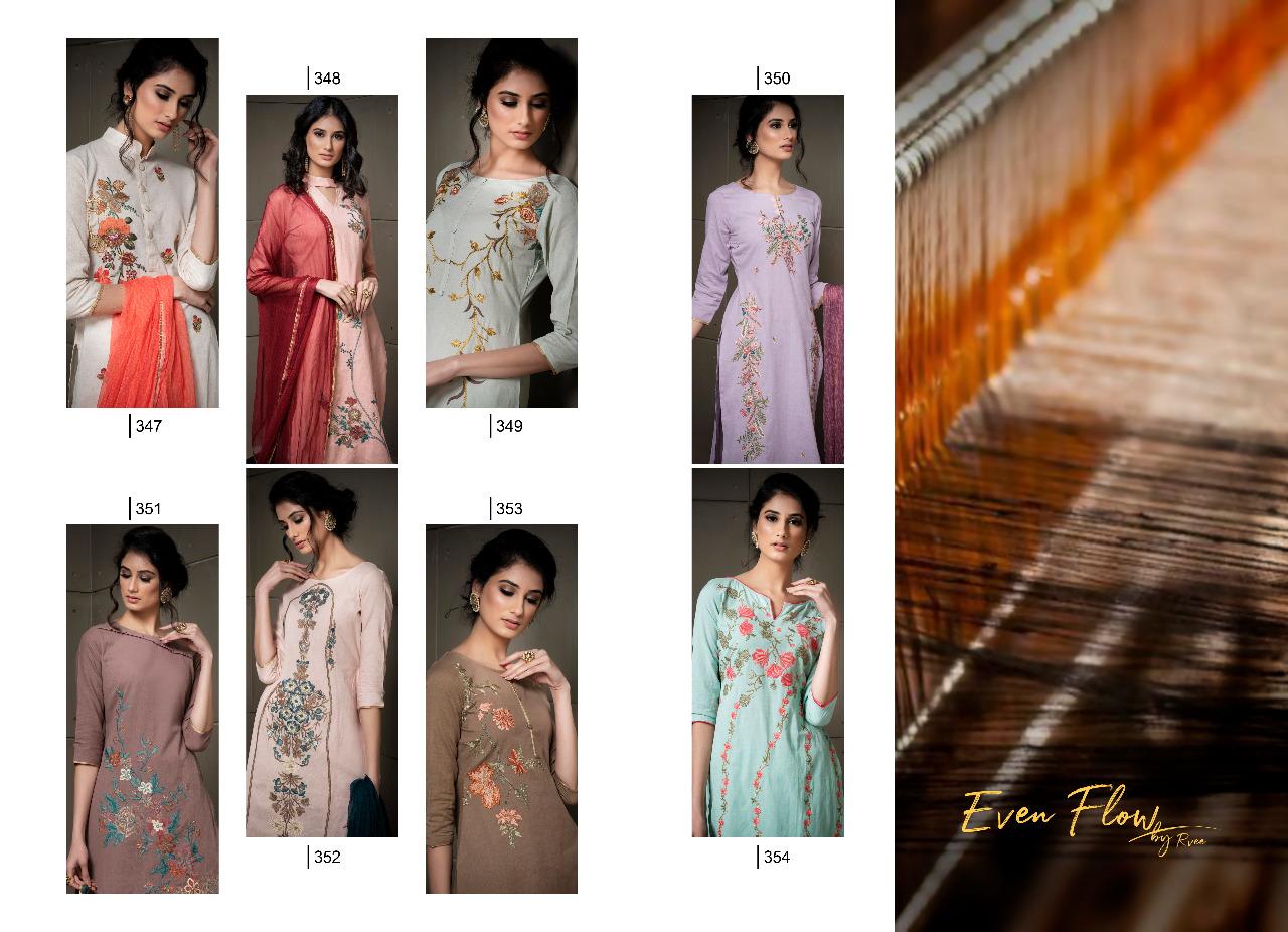 Rvee Gold Even Flow Salwar Suit Wholesale Catalog 8 Pcs 9 - Rvee Gold Even Flow Salwar Suit Wholesale Catalog 8 Pcs