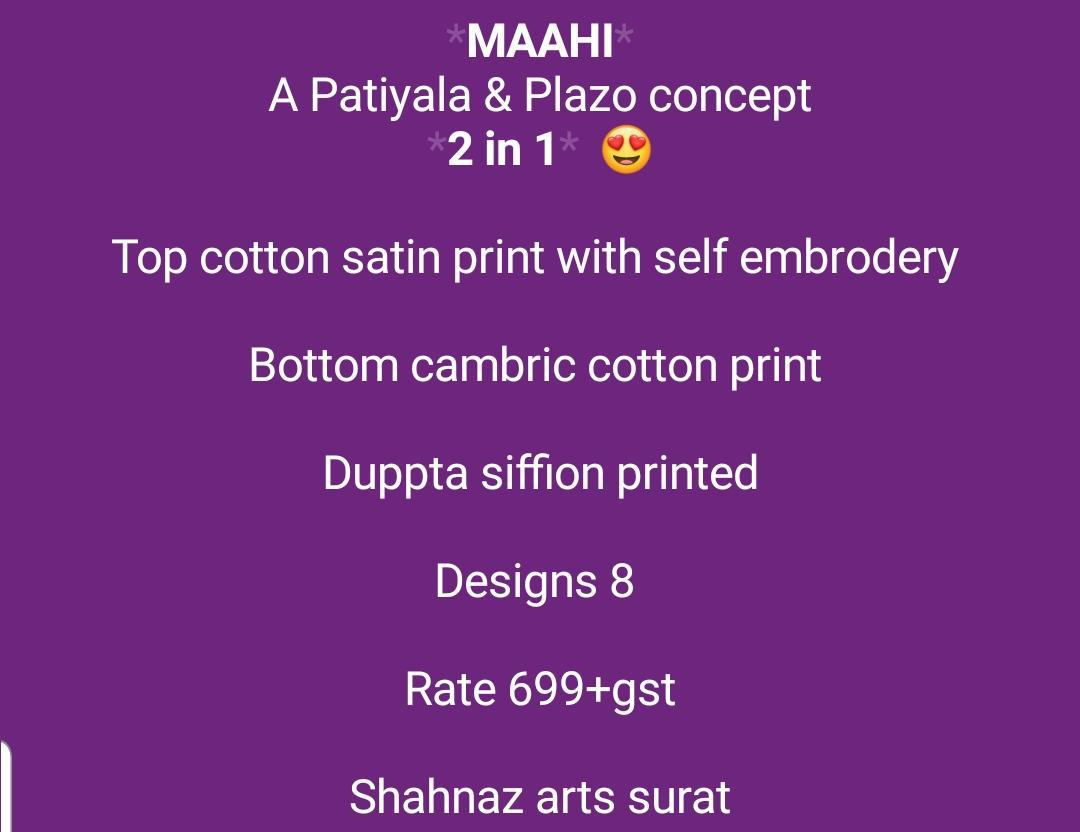 Shahnaz Arts Maahi Salwar Suit Wholesale Catalog 8 Pcs 13 - Shahnaz Arts Maahi Salwar Suit Wholesale Catalog 8 Pcs
