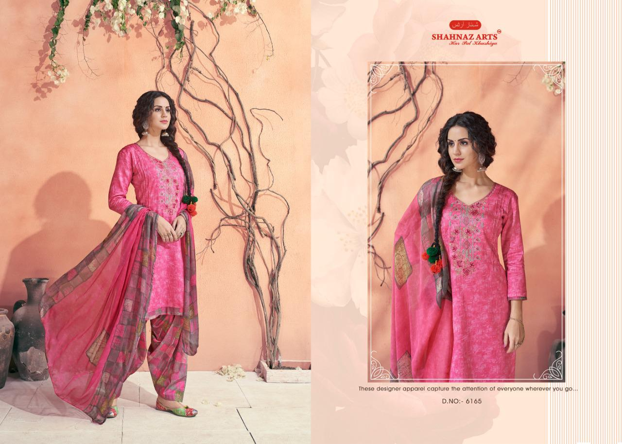Shahnaz Arts Maahi Salwar Suit Wholesale Catalog 8 Pcs 6 - Shahnaz Arts Maahi Salwar Suit Wholesale Catalog 8 Pcs