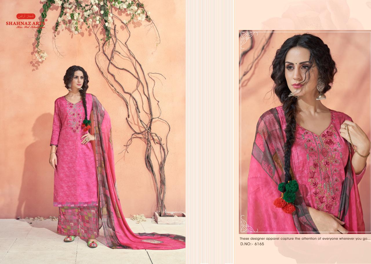 Shahnaz Arts Maahi Salwar Suit Wholesale Catalog 8 Pcs 7 - Shahnaz Arts Maahi Salwar Suit Wholesale Catalog 8 Pcs