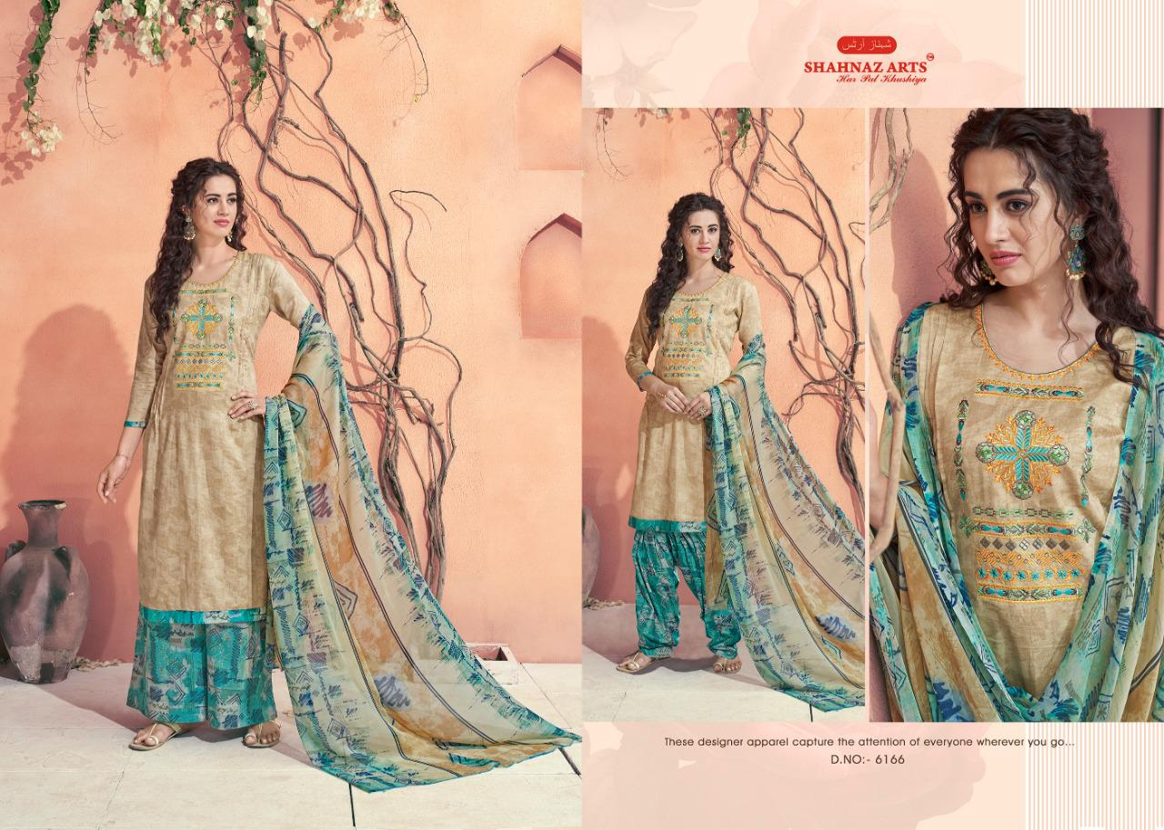 Shahnaz Arts Maahi Salwar Suit Wholesale Catalog 8 Pcs 8 - Shahnaz Arts Maahi Salwar Suit Wholesale Catalog 8 Pcs