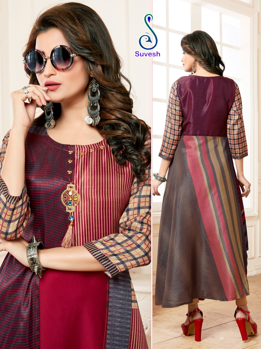 Suvesh Nayyab Kurti Wholesale Catalog 5 Pcs 2 - Suvesh Nayyab Kurti Wholesale Catalog 5 Pcs