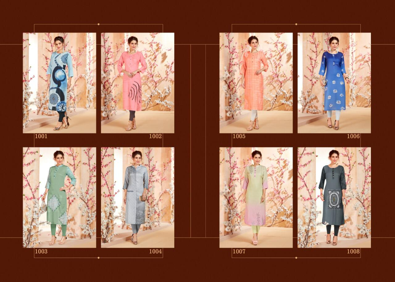 S More Dove Kurti Wholesale Catalog 8 Pcs 9 - S More Dove Kurti Wholesale Catalog 8 Pcs