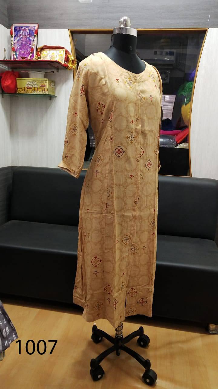 Avashya Rayon A Line D1007 Kurti Size Set Wholesale 3 Pcs 1 - Avashya Rayon A-Line D1007 Kurti Size Set Wholesale 3 Pcs