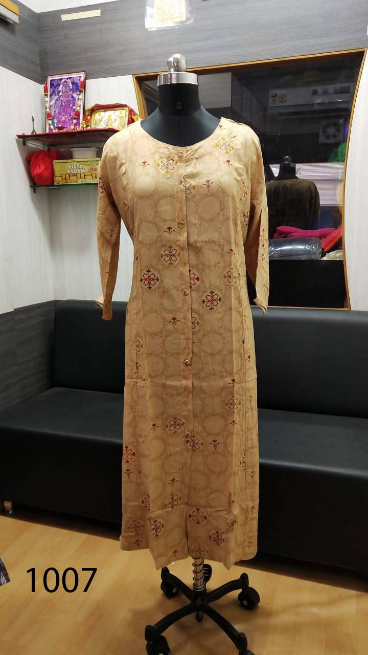 Avashya Rayon A Line D1007 Kurti Size Set Wholesale 3 Pcs 2 - Avashya Rayon A-Line D1007 Kurti Size Set Wholesale 3 Pcs