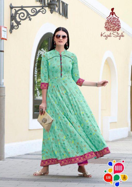 Kajal Style Fashion Colorbar Vol 4 Kurti Wholesale Catalog 10 Pcs 10 510x725 - Kajal Style Fashion Colorbar Vol 4 Kurti Wholesale Catalog 10 Pcs