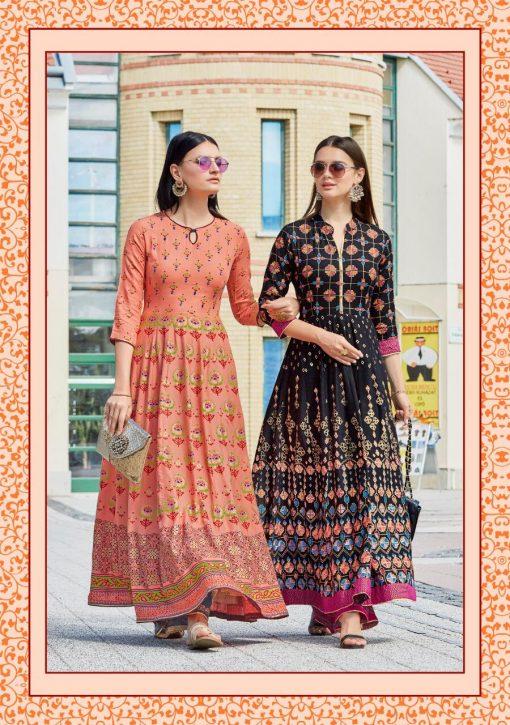 Kajal Style Fashion Colorbar Vol 4 Kurti Wholesale Catalog 10 Pcs 14 510x725 - Kajal Style Fashion Colorbar Vol 4 Kurti Wholesale Catalog 10 Pcs