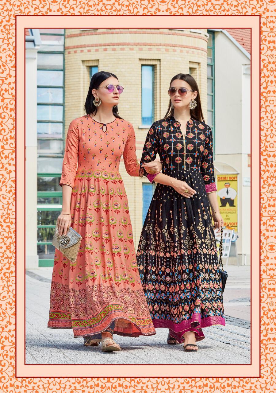 Kajal Style Fashion Colorbar Vol 4 Kurti Wholesale Catalog 10 Pcs 14 - Kajal Style Fashion Colorbar Vol 4 Kurti Wholesale Catalog 10 Pcs