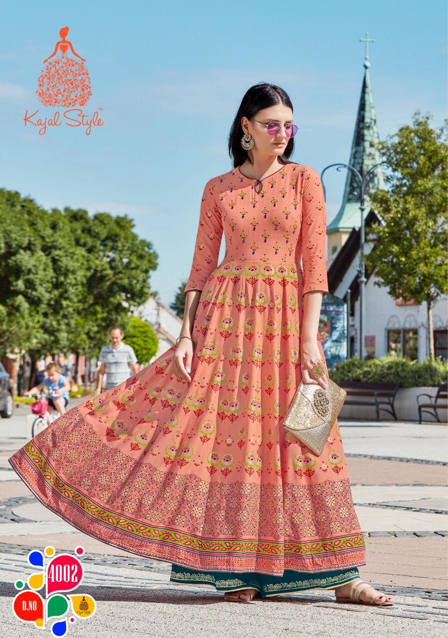 Kajal Style Fashion Colorbar Vol 4 Kurti Wholesale Catalog 10 Pcs 2 - Kajal Style Fashion Colorbar Vol 4 Kurti Wholesale Catalog 10 Pcs