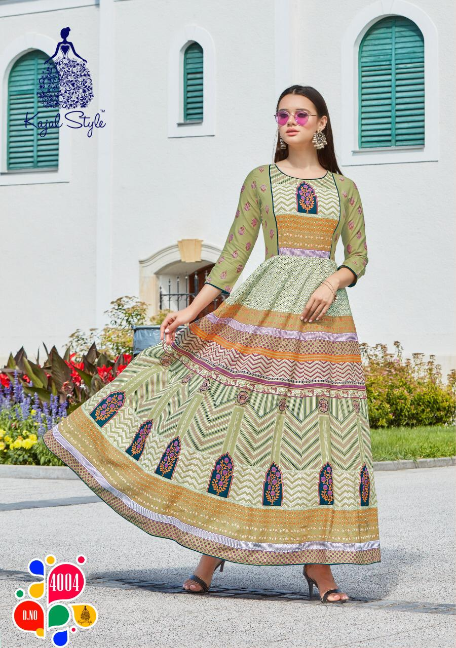 Kajal Style Fashion Colorbar Vol 4 Kurti Wholesale Catalog 10 Pcs 6 - Kajal Style Fashion Colorbar Vol 4 Kurti Wholesale Catalog 10 Pcs