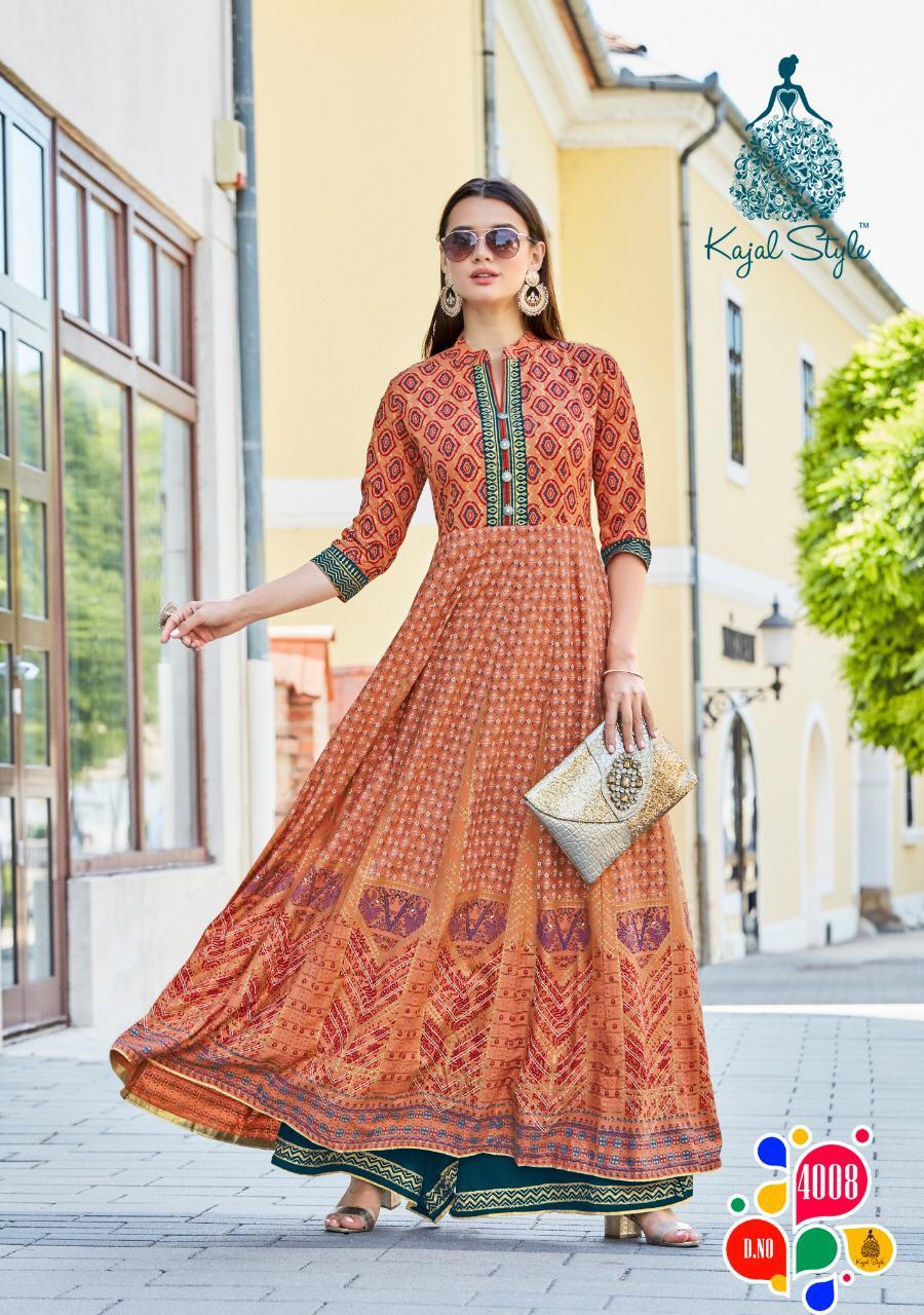 Kajal Style Fashion Colorbar Vol 4 Kurti Wholesale Catalog 10 Pcs 9 - Kajal Style Fashion Colorbar Vol 4 Kurti Wholesale Catalog 10 Pcs