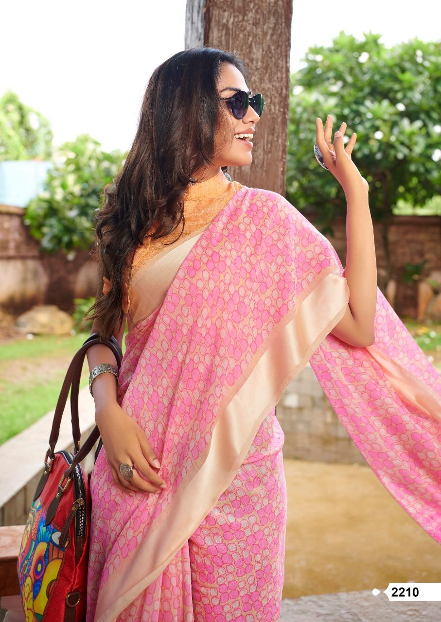 Lt Fabrics Belizza Saree Sari Wholesale Catalog 10 Pcs 6 - Lt Fabrics Belizza Saree Sari Wholesale Catalog 10 Pcs
