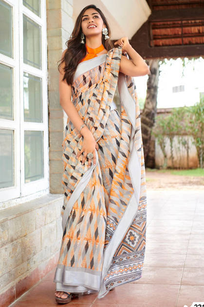Lt Fabrics Belizza Saree Sari Wholesale Catalog 10 Pcs - Lt Fabrics Belizza Saree Sari Wholesale Catalog 10 Pcs
