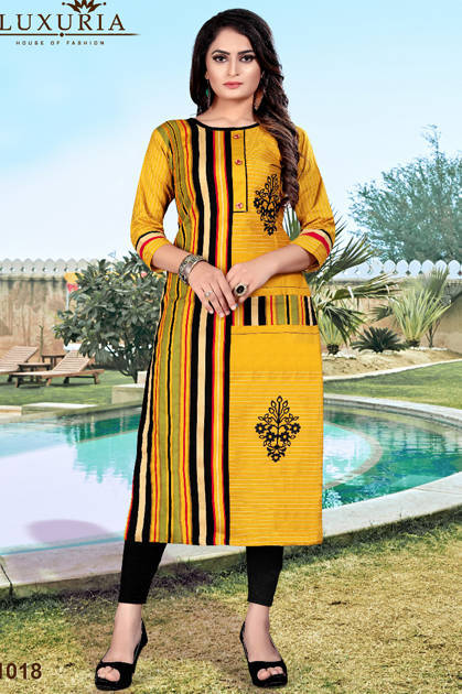 Luxuria Orient Kurti Wholesale Catalog 5 Pcs - Luxuria Orient Kurti Wholesale Catalog 5 Pcs