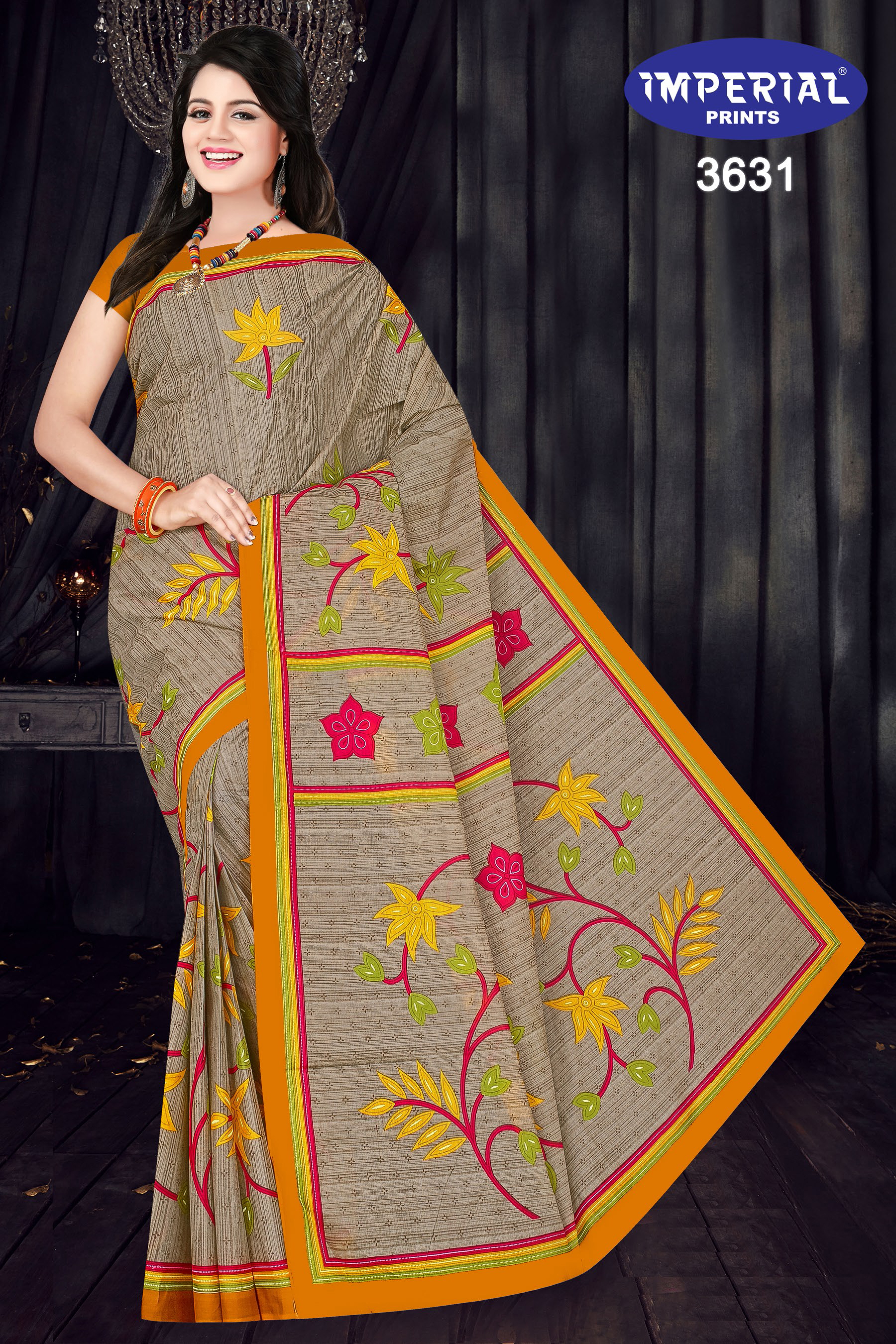 Imperial Mari Gold Saree Sari Wholesale Catalog 15 Pcs 2 - Imperial Mari Gold Saree Sari Wholesale Catalog 15 Pcs