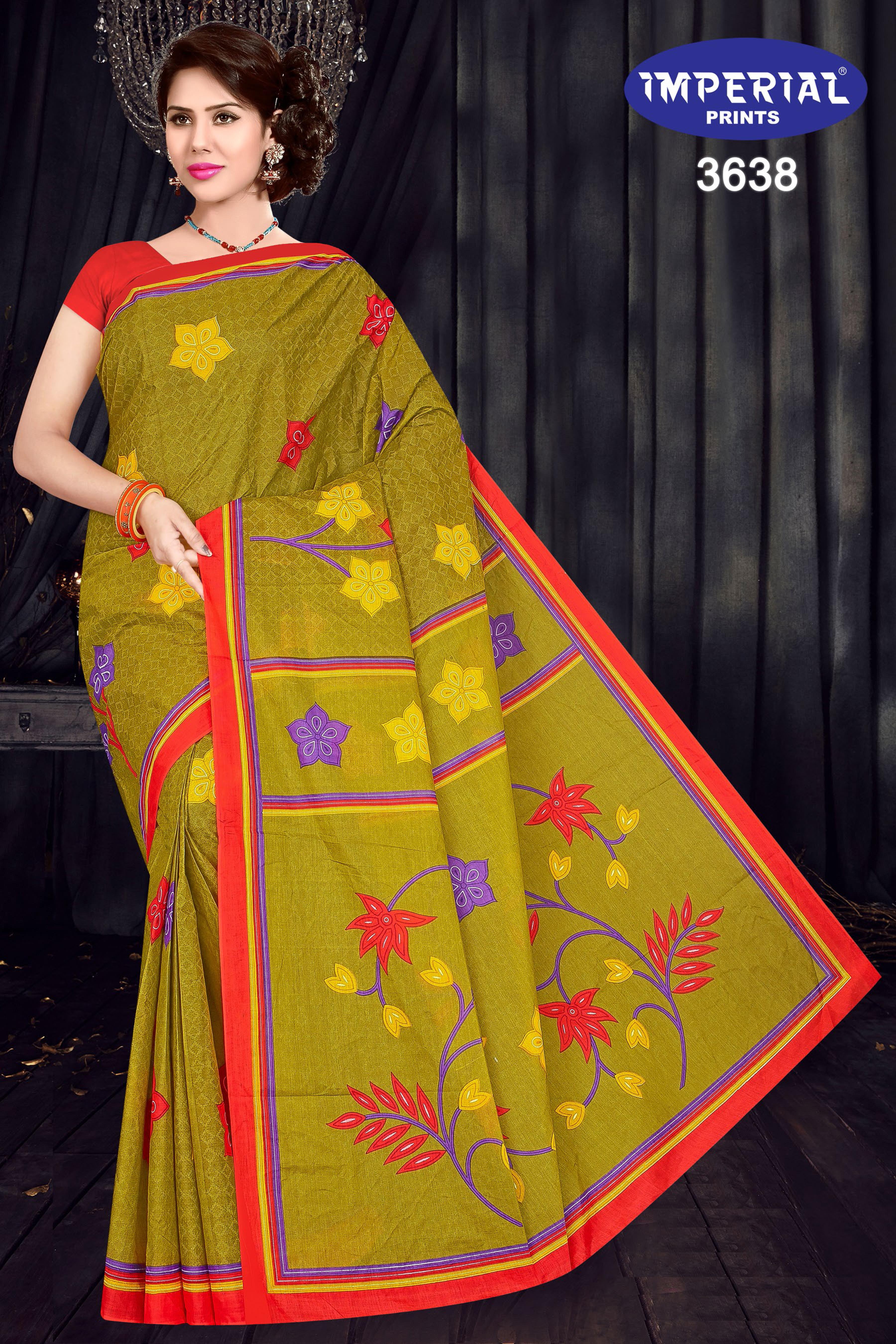 Imperial Mari Gold Saree Sari Wholesale Catalog 15 Pcs 9 - Imperial Mari Gold Saree Sari Wholesale Catalog 15 Pcs