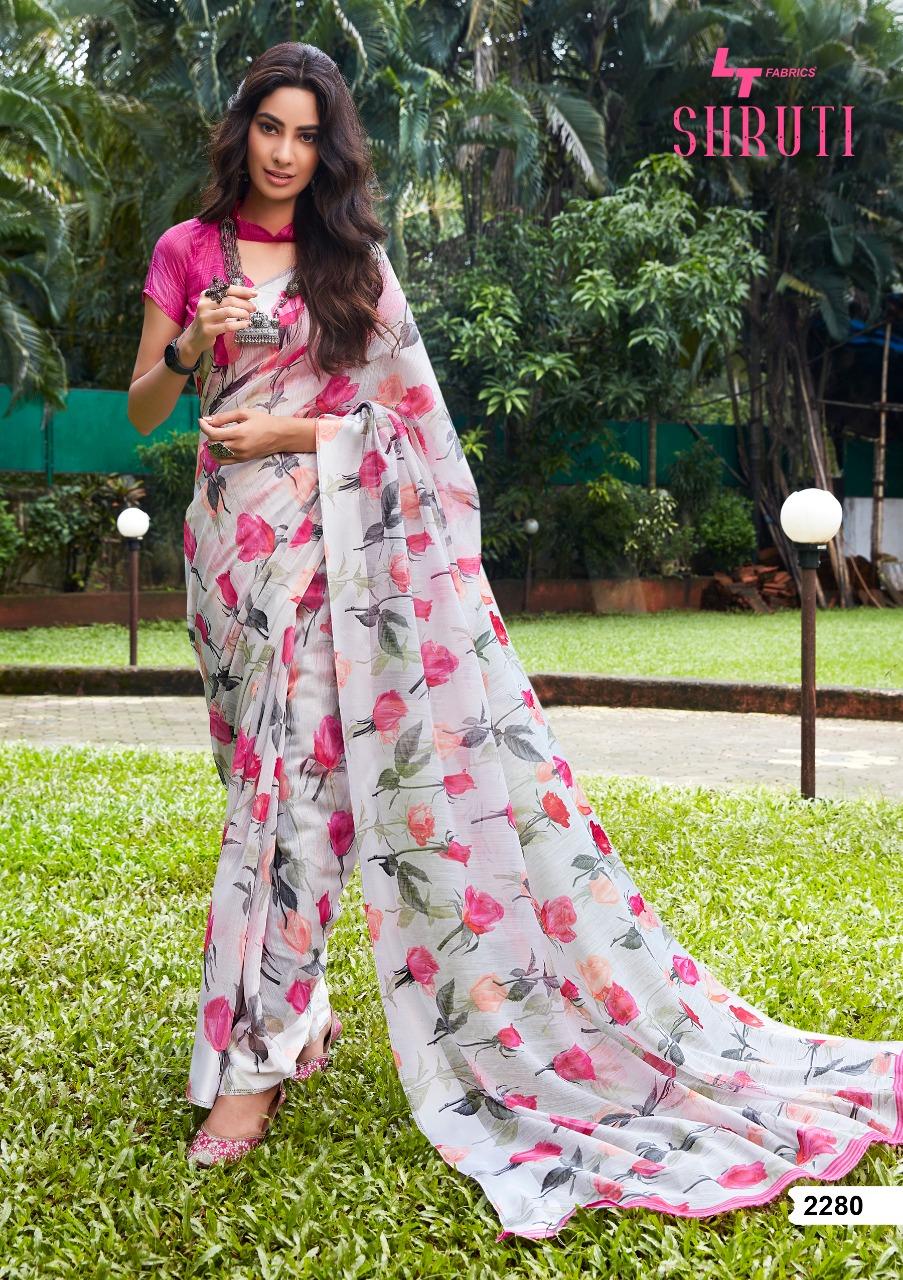 Lt Fabrics Shruti Saree Sari Wholesale Catalog 10 Pcs 1 - Lt Fabrics Shruti Saree Sari Wholesale Catalog 10 Pcs