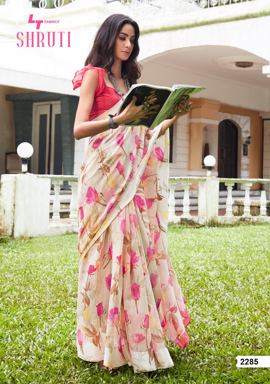 Lt Fabrics Shruti Saree Sari Wholesale Catalog 10 Pcs 10 - Lt Fabrics Shruti Saree Sari Wholesale Catalog 10 Pcs