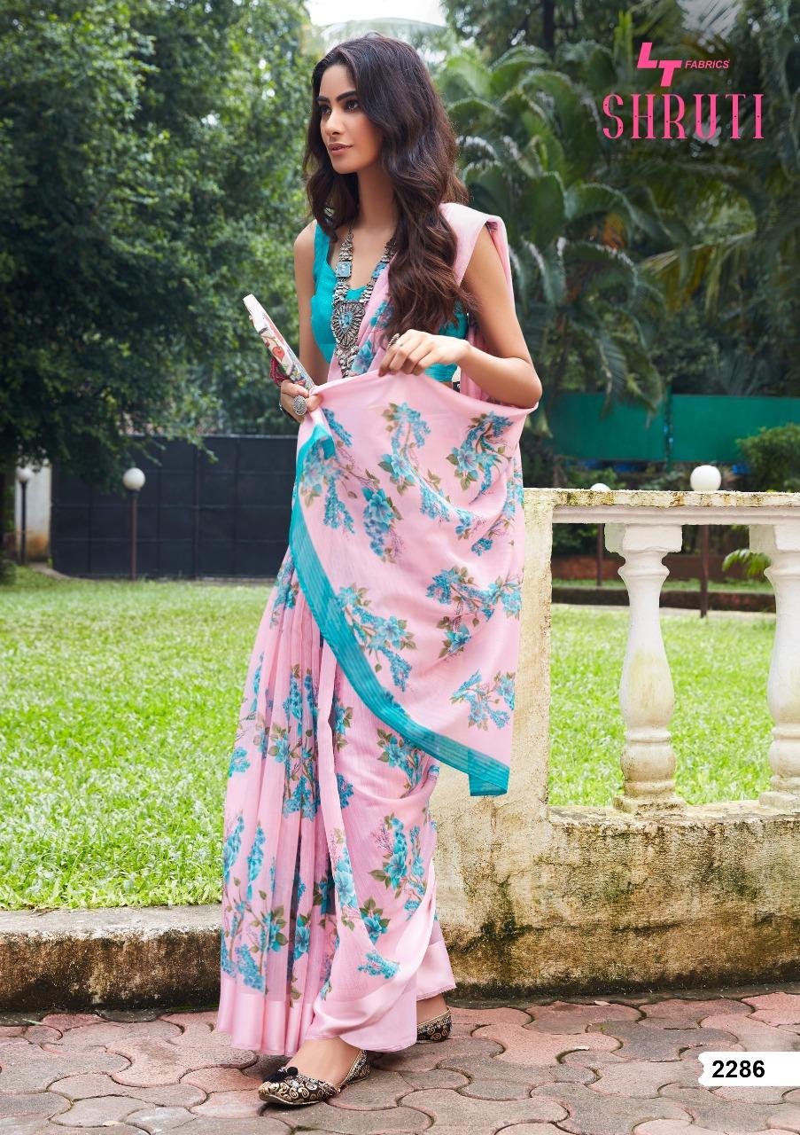Lt Fabrics Shruti Saree Sari Wholesale Catalog 10 Pcs 13 - Lt Fabrics Shruti Saree Sari Wholesale Catalog 10 Pcs
