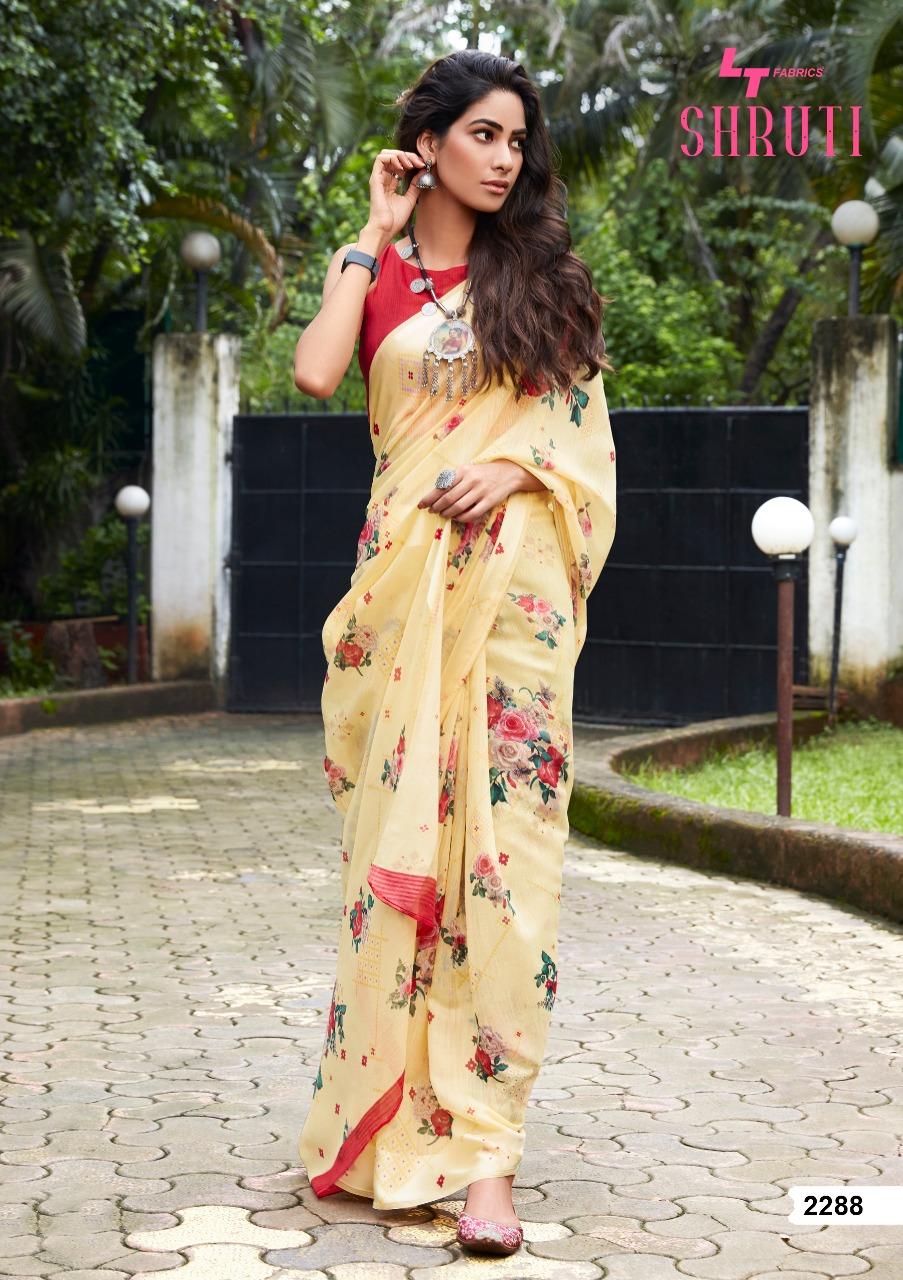 Lt Fabrics Shruti Saree Sari Wholesale Catalog 10 Pcs 18 - Lt Fabrics Shruti Saree Sari Wholesale Catalog 10 Pcs