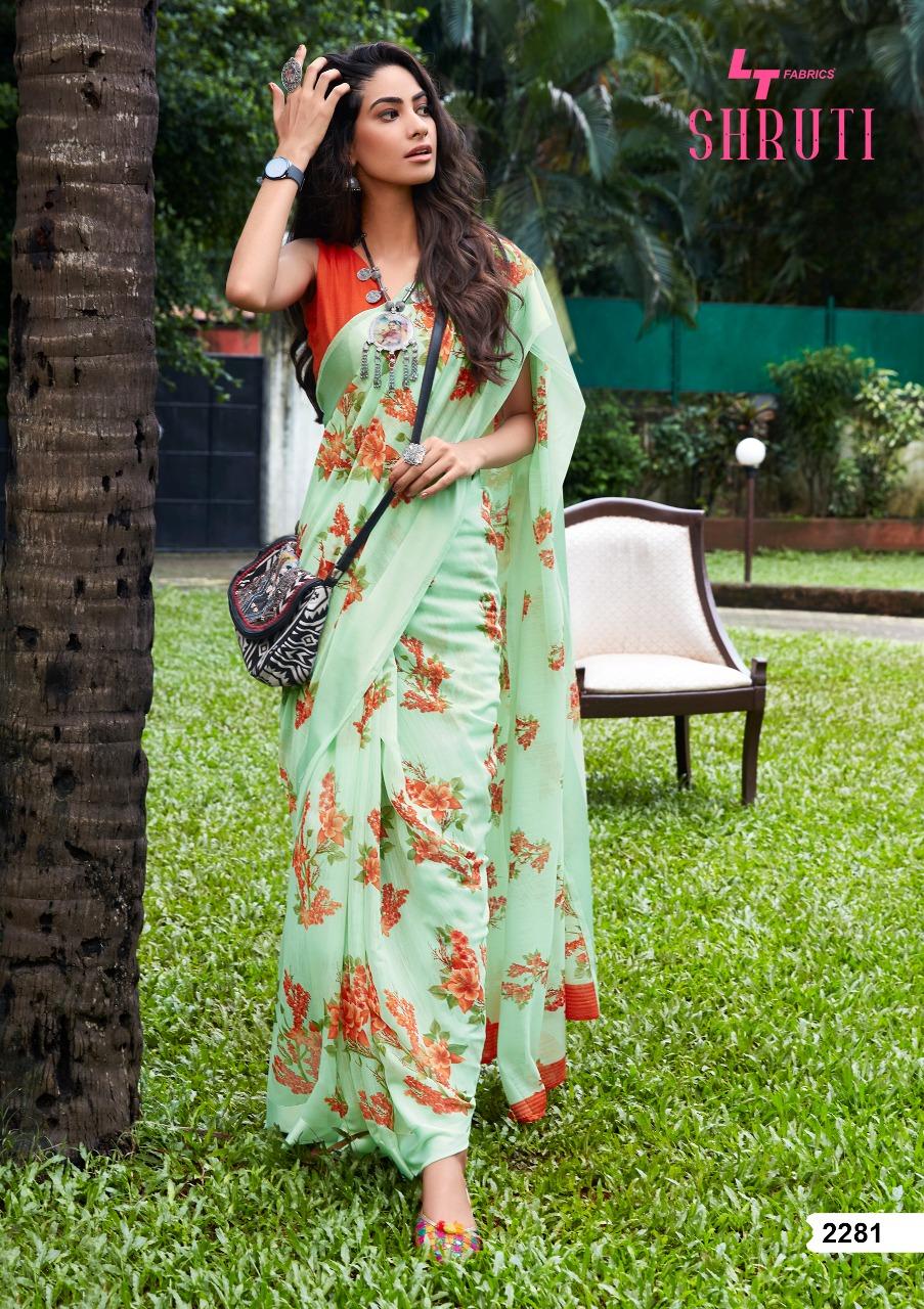 Lt Fabrics Shruti Saree Sari Wholesale Catalog 10 Pcs 2 - Lt Fabrics Shruti Saree Sari Wholesale Catalog 10 Pcs