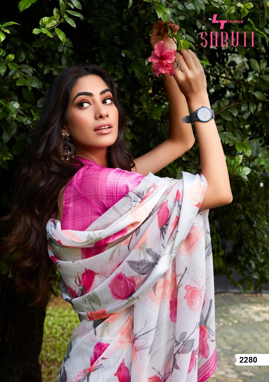 Lt Fabrics Shruti Saree Sari Wholesale Catalog 10 Pcs 20 - Lt Fabrics Shruti Saree Sari Wholesale Catalog 10 Pcs