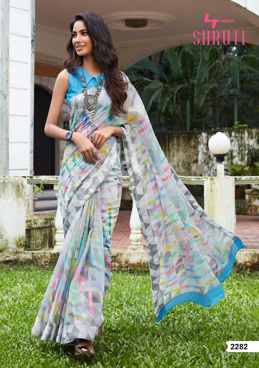 Lt Fabrics Shruti Saree Sari Wholesale Catalog 10 Pcs 4 - Lt Fabrics Shruti Saree Sari Wholesale Catalog 10 Pcs