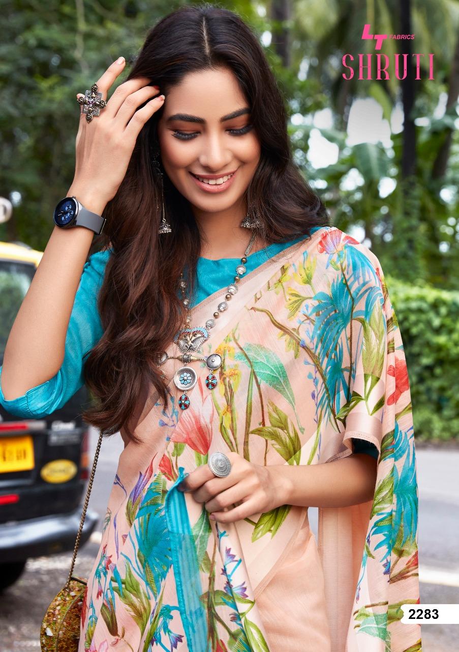 Lt Fabrics Shruti Saree Sari Wholesale Catalog 10 Pcs 6 - Lt Fabrics Shruti Saree Sari Wholesale Catalog 10 Pcs