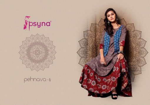 Psyna Pehnava Vol 4 Kurti Wholesale Catalog 10 Pcs 5 510x356 - Psyna Pehnava Vol 4 Kurti Wholesale Catalog 10 Pcs