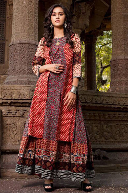 Psyna Pehnava Vol 4 Kurti Wholesale Catalog 10 Pcs