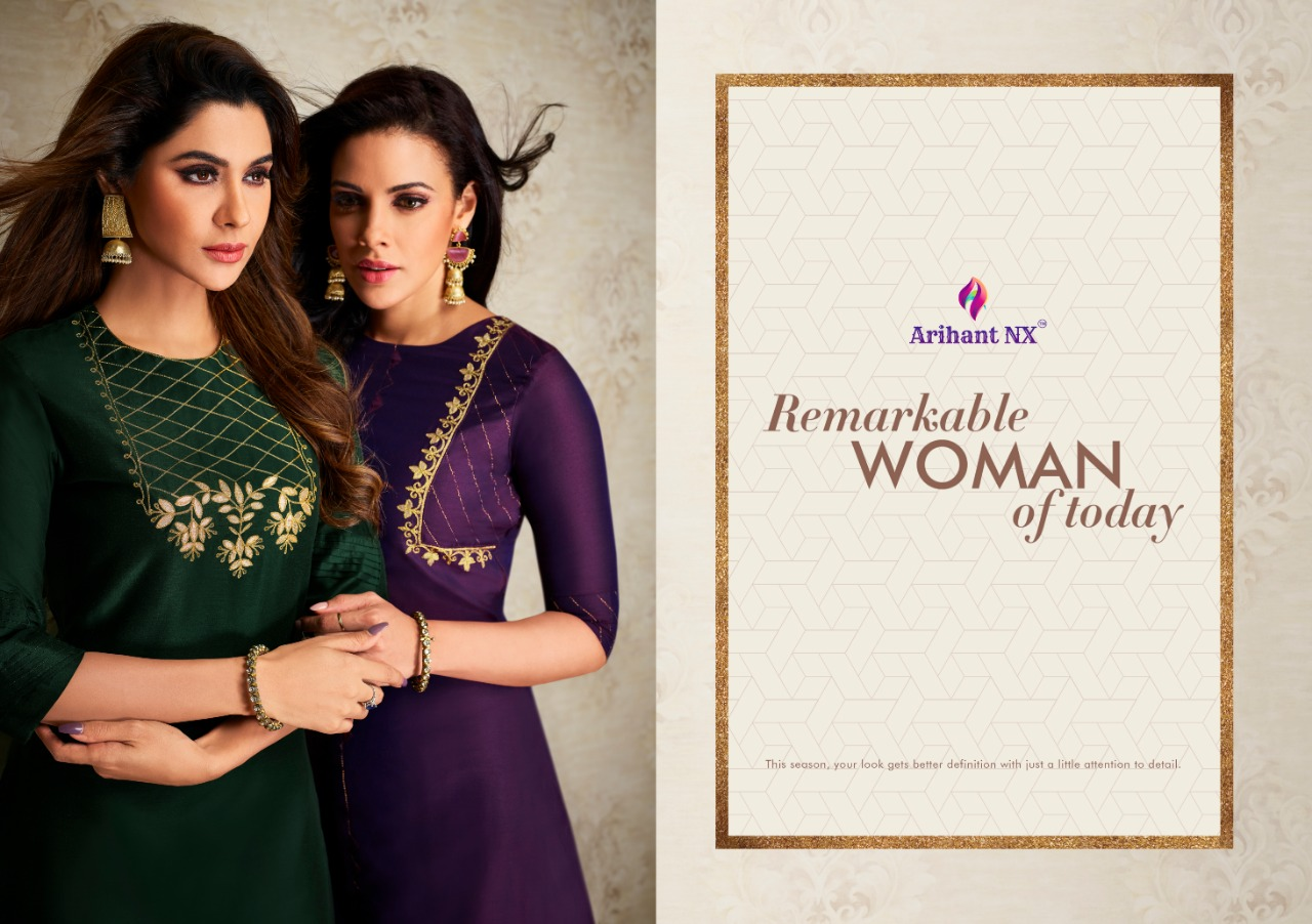 Arihant Nx Nazz Kurti with Palazzo Wholesale Catalog 8 Pcs 2 - Arihant Nx Nazz Kurti with Palazzo Wholesale Catalog 8 Pcs